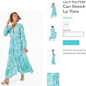 NWT! RARE! Hard to find! Lilly Pulitzer Dress